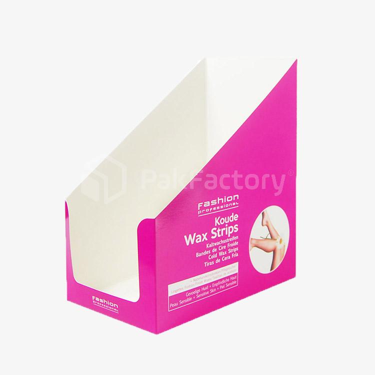 Wax Strips Cardboard Display Trays