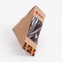 Custom Printed Single Sandwich To Go Box with Window