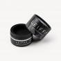 Round Shaped Black Shaving Cream Box
