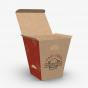 Custom Paper Fry Boxes