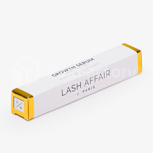 Gold Foil Mascara Box