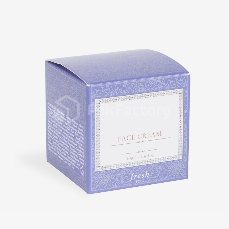 Face Cream Box