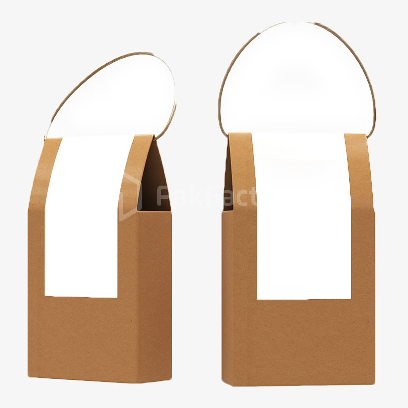 Kraft Box with Twisted Paper Handle