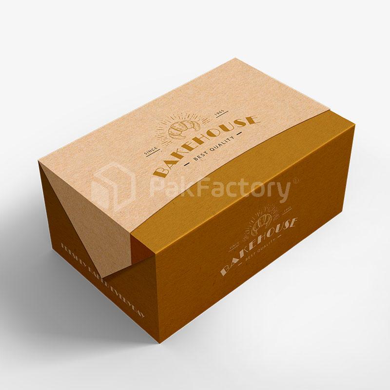 Custom Fold Lock Take Out Boxes