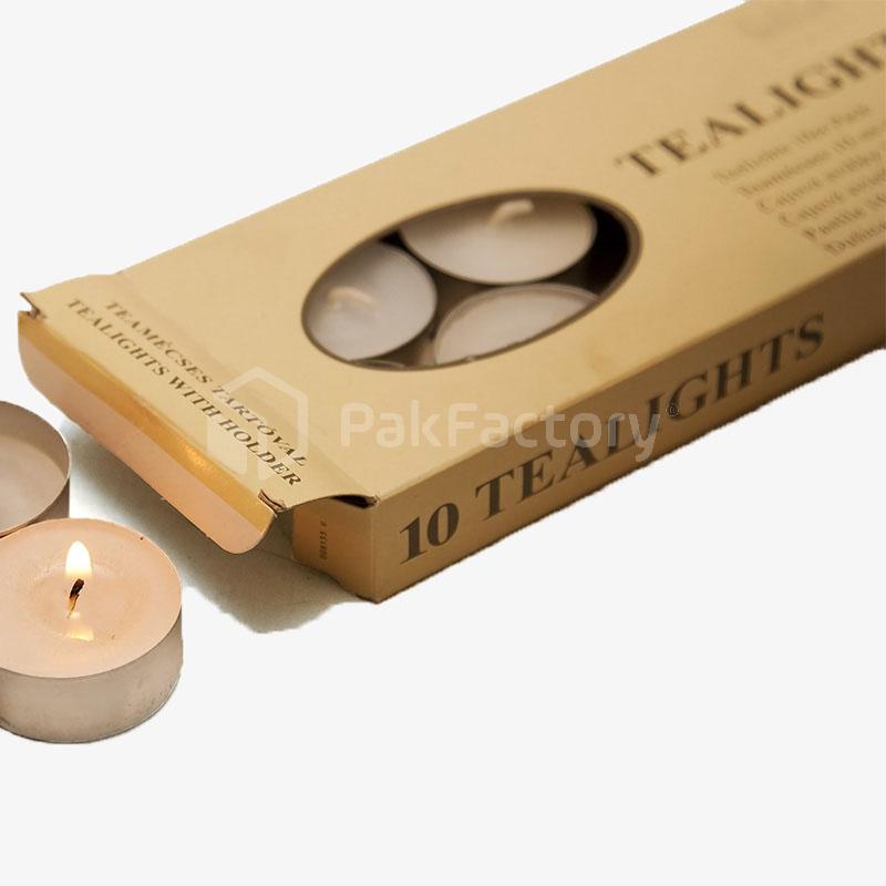 Tea Light Packaging Boxes